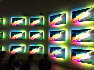 Philips Ambilight nu ook op muziek werkend niet alleen beeld