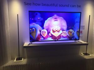 Philips met losse speakers zeer mooi geluid!!