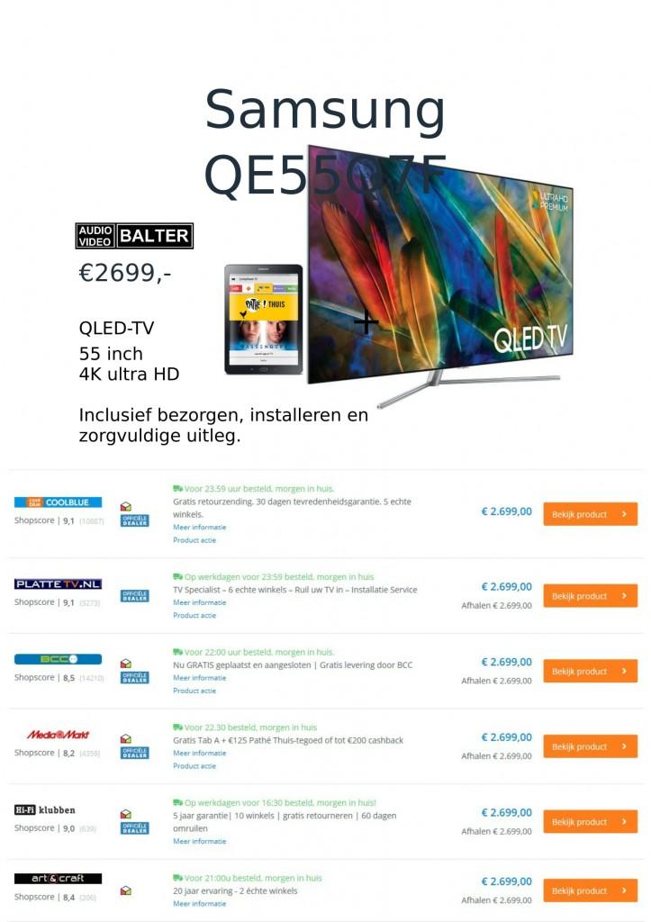 Samsung QE55Q7F + tablet-1